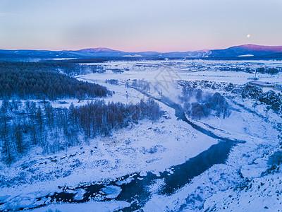 大兴安岭的冬天图片