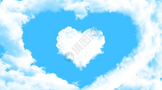 爱心云图片