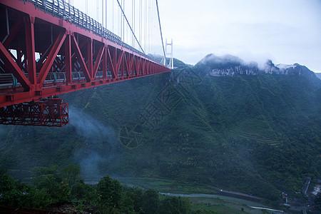 跨山大桥图片