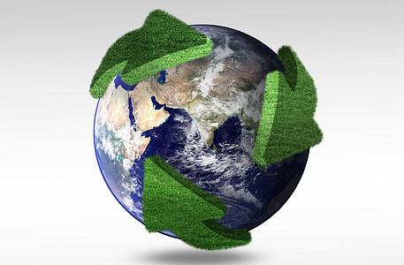 保护环境循环利用创意地球图片图片
