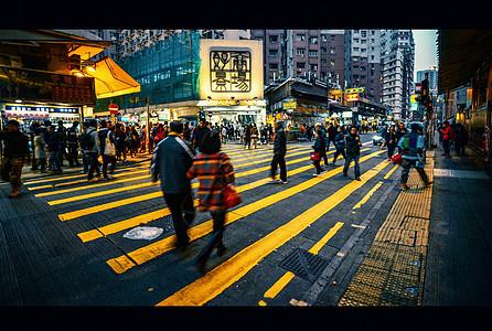黄金人行道图片