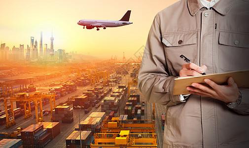 货物物流运输图片
