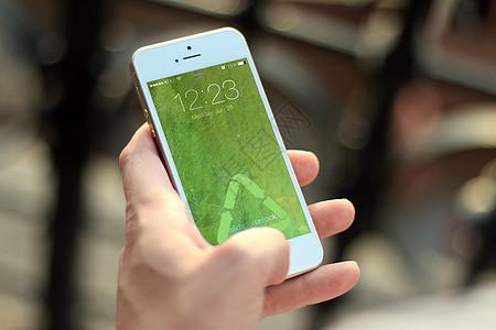 环保手机屏保图片