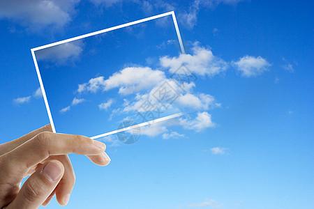 创意天空照片图片