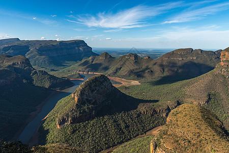南非美丽山川河谷图片