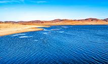 乌兰布统野鸭湖美景图片