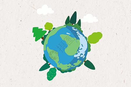 绿色城市新能源建设矢量背景图片