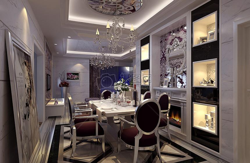 欧式室内装修效果图设计