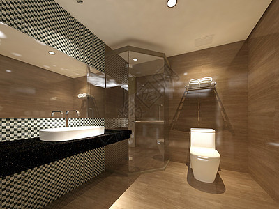 商务酒店卫生间设计图片