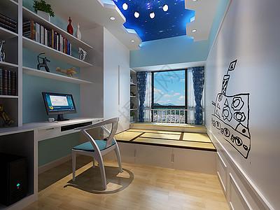 儿童房卧室装修设计图片