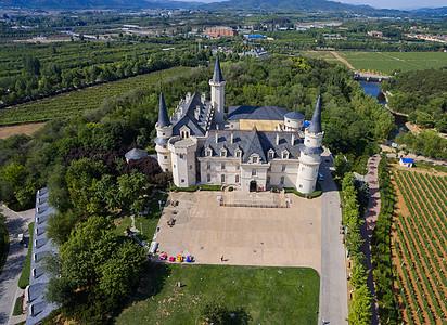 张裕爱斐堡酒庄城堡图片