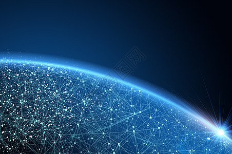 地球信息科技网络图片