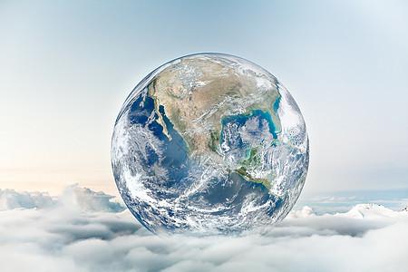 云端世界图片
