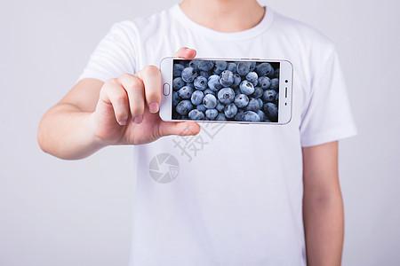 手机中的水果图片
