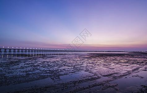 浅滩夕阳图片