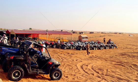 沙漠冲沙图片