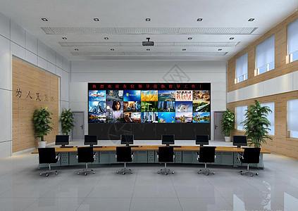 液晶拼接显示屏效果图 俐视电子图片
