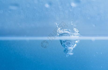 水滴水花水珠微距图片