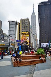 纽约时代广场街道图片