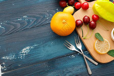创意水果组合图片