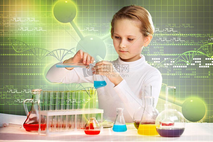 化学实验研究图片
