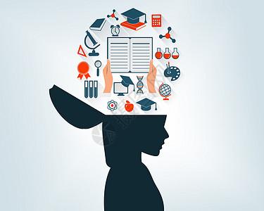 大脑的智慧图片