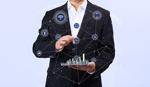 网络连接生活 图片