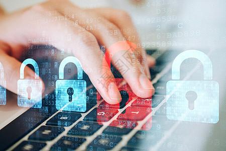 数据安全电脑科技图片