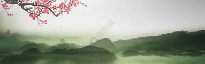 山水banner图片