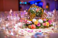 南瓜马车装饰花图片