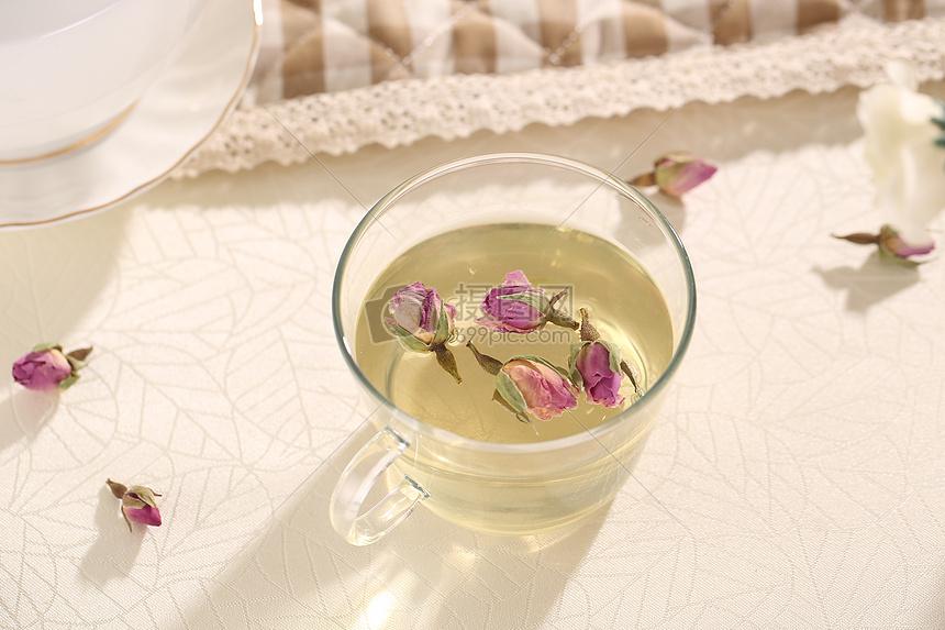 玫瑰茶图片