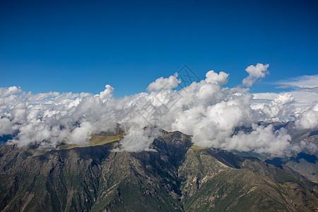 青藏高原的天空图片