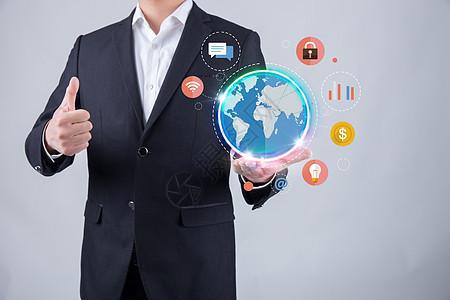 全球信息化联系图片