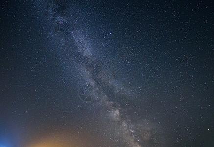 阿尔山银河图片