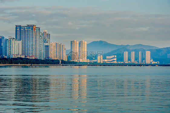 珠海海岸-珠海渔女风景区海景图片