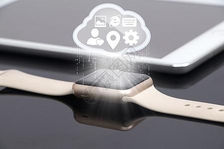 智能手表云图标图片