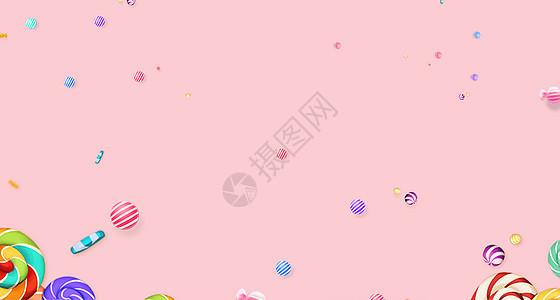 糖果甜美背景素材下载图片