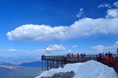 云南玉龙雪山图片