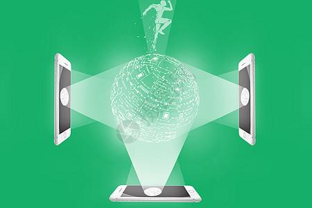 手机三维智能全息投影图片