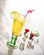 柠檬果汁饮料图片