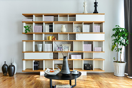 木质书柜图片