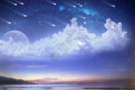 星空下的世界图片