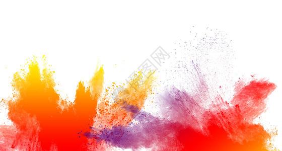 彩色水彩背景下载图片
