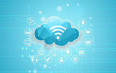 网络云数据应用图片
