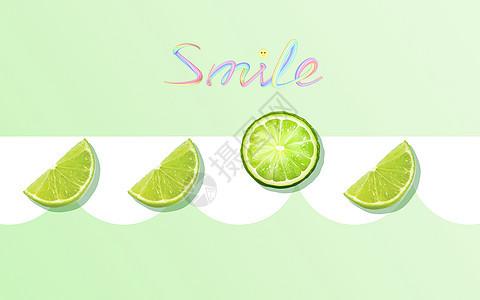 洒满阳光微笑的小人图片