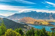 新西兰皇后镇全景图片