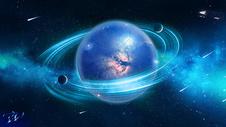 创意宇宙星空合成图片