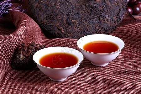 云南普洱茶细节图图片