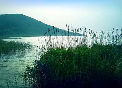 苏州西山淡水湖图片