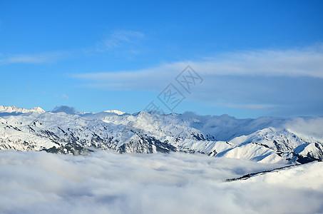 雪山之巅图片